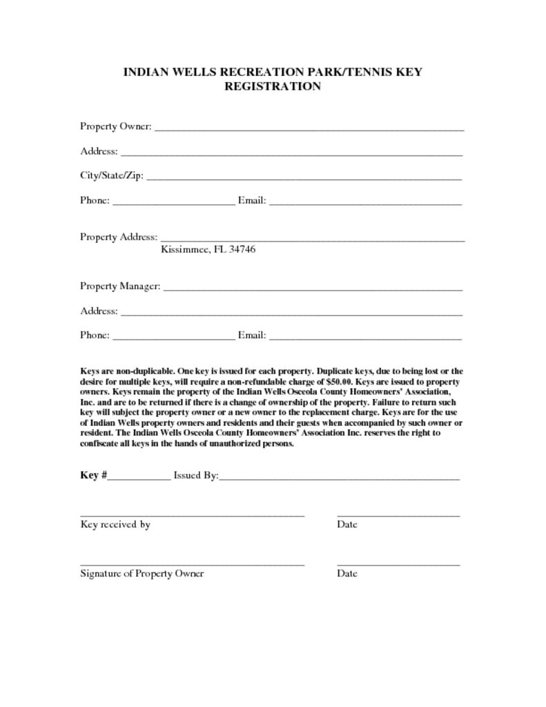 Tennis key registration form indian wells hoa tennis key registration form altavistaventures Image collections