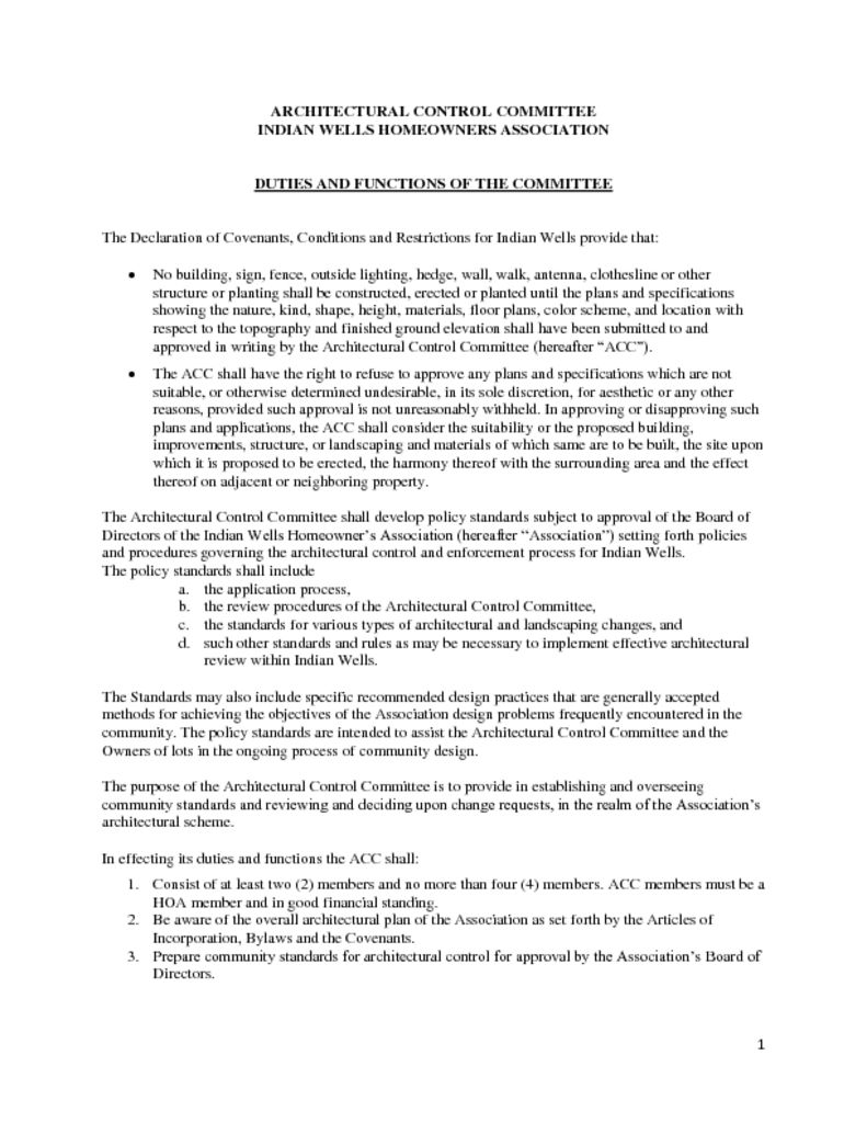 thumbnail of ARCHITECTURAL CONTROL COMMITTEE Duties 020718 (1)